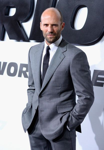 sexy bald men - Jason Statham