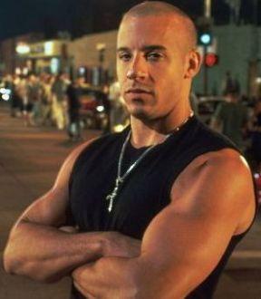 sexy bald men - Vin Diesel